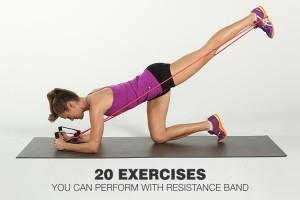 Getting Toned with Resistance Bands