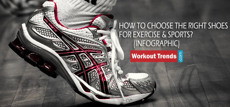 How to Choose the Right Shoes for Exercise & Sports