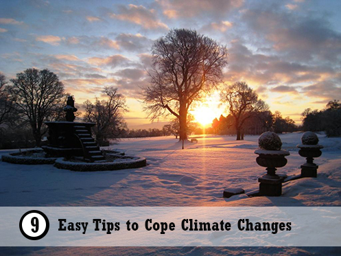Easy Tips to Cope Climate Changes