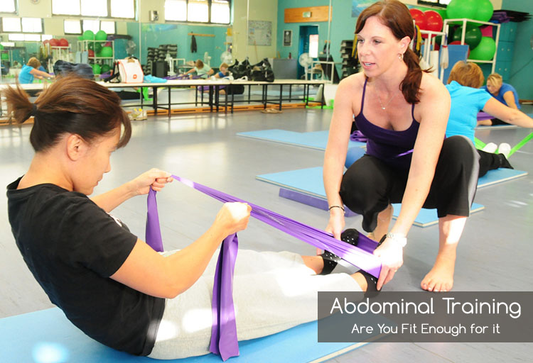 Abdominal Training Are You Fit Enough for it