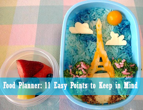 food planner for a week