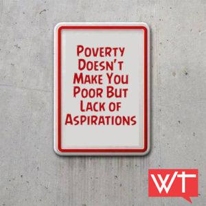 lack of aspiration