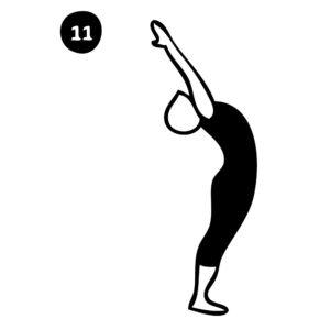 11-mountain pose