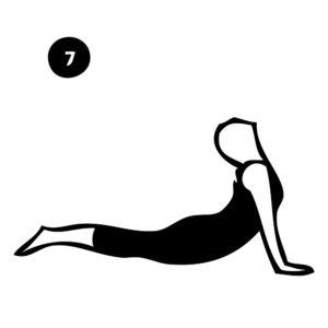 7-cobra pose