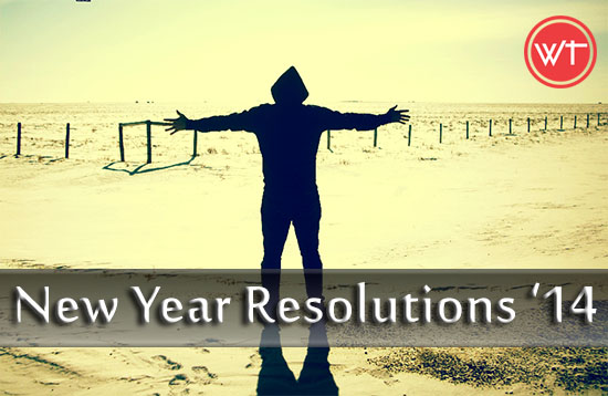 new year's resolutions 2014