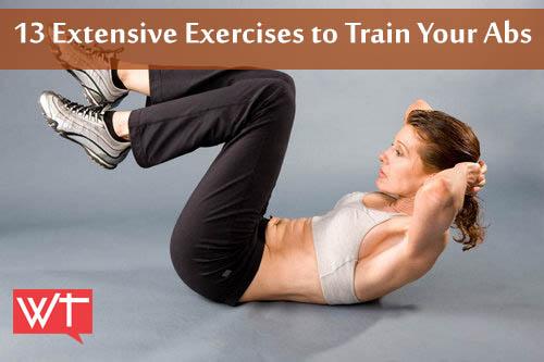 13 extensive exercises to train your abdomen