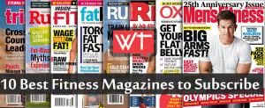 10 best fitness magazines to subscribe to