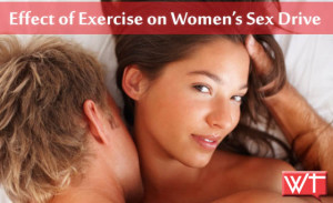 effect of exercise on women's sex drive