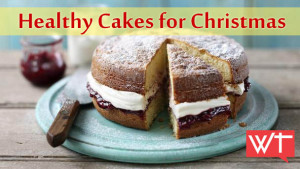healthy cakes for christmas