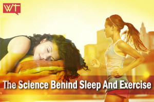 science behind sleep and exercise