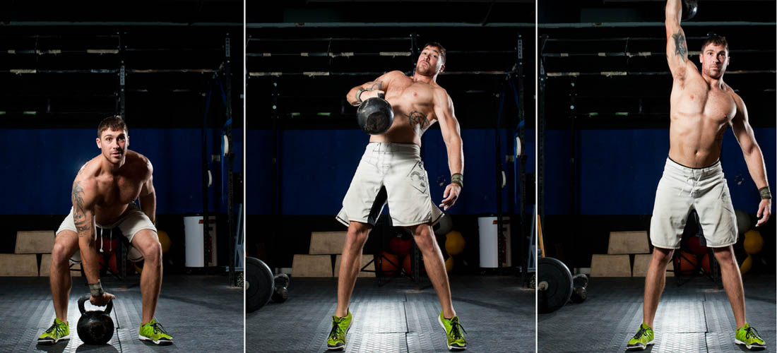 how to do a kettlebell clean
