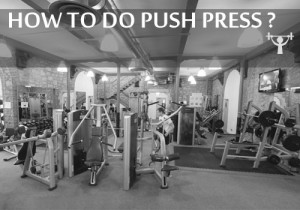 how to do push press
