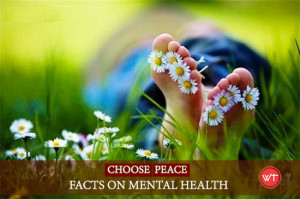 mental health peace facts