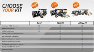 p90x3 reviews comparison chart
