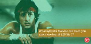 sylvester stallone rocky workout