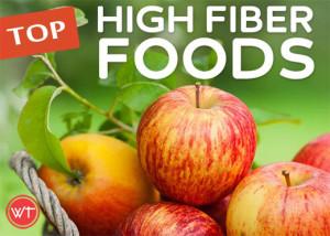 top high fibre foods