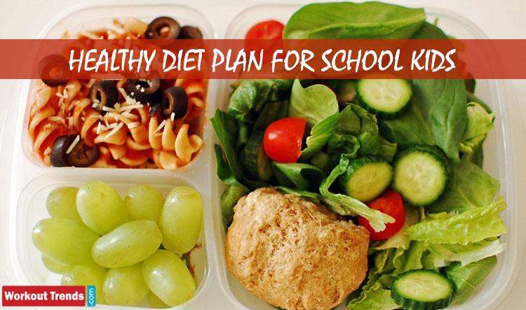 Healthy Diet Plan For School Kids