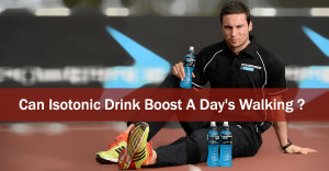 Isotonic Drink as fuel to body
