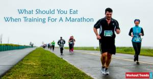 What Should I Eat If I'm Training For A Marathon