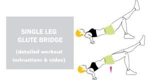 how to do Single Leg Glute Bridge