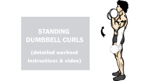 how to do Standing Dumbbell Curls