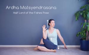 Ardha Matsyendrasana (Half Lord of the Fishes Pose)