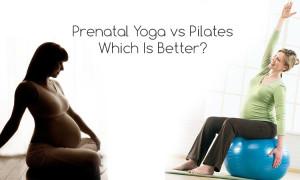 Prenatal yoga vs pilates