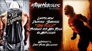 hercules workout & diet the rock