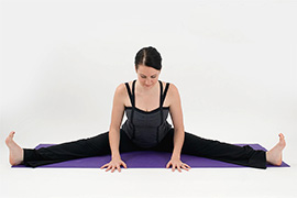 Seated Wide-legged Straddle Pose