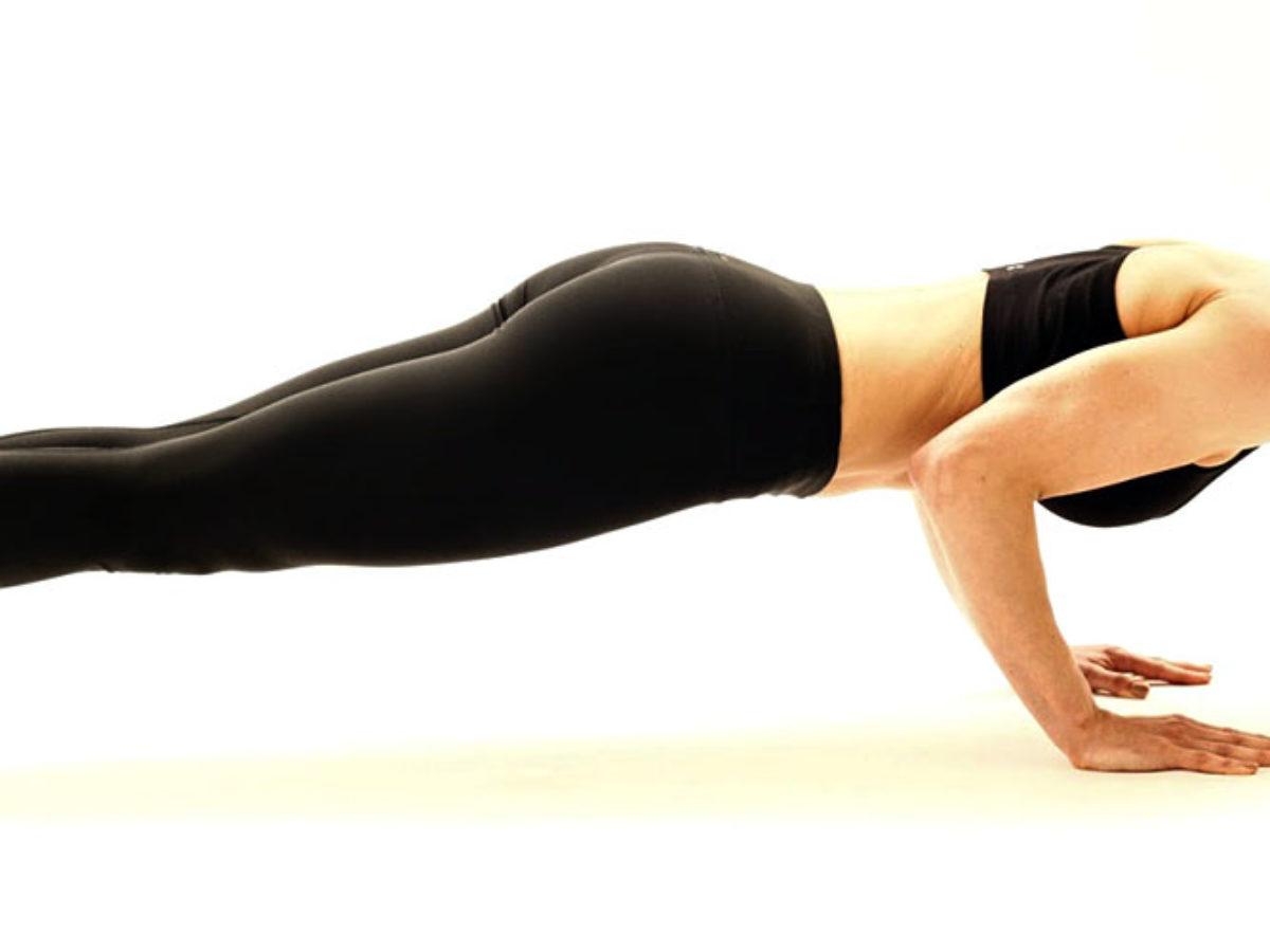 Learn Yoga Plank Pose Chaturanga Dandasana Steps