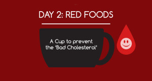 significance of red colored foods