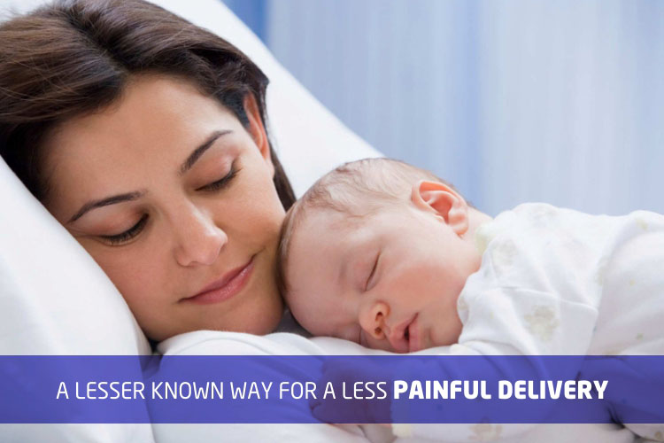 A Lesser Known Way For A Less Painful Delivery