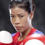 Mary Kom in boxing attire