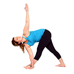 Revolved Triangle Pose (Parivritta Trikonasana) thumbnail