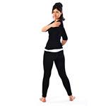 Standing Spinal Twist Pose (Katichakrasana) thumbnail