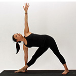 Utthita Trikonasana (Extended Triangle Pose) thumbnail