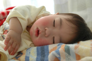 baby sleeping comfortably
