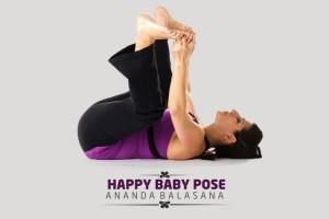 happy baby poses