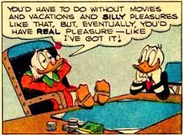 happy smart scrooge