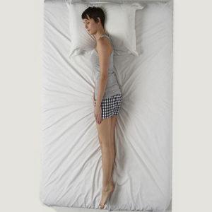 log sleep position