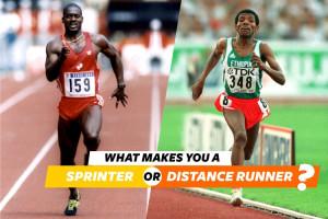 What Makes You A Sprinter Or Marathon Runner
