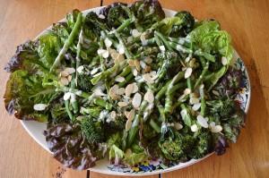 asparagus broccoli salad