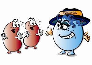 diabetes cartoon