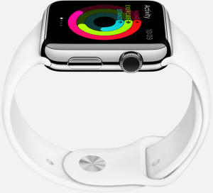 Measure of movement by iWatch