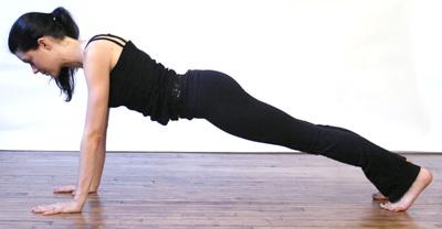 Plank-Pose-Yoga-Chaturanga-Asana