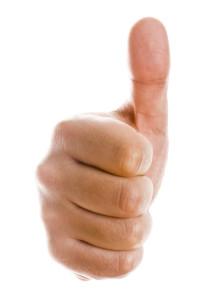 appreciation thumbs up