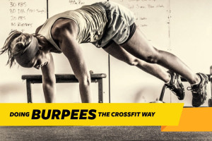 doing burpees the crossfit way