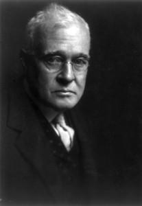 Horace Fletcher of the fletcherism diet