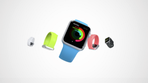 iWatch vibrant colors