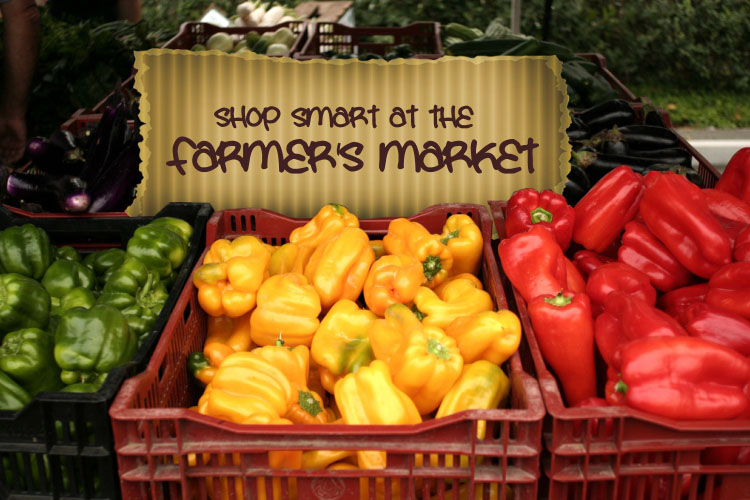vegetables and the farmers market
